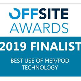 Finalist for Best Use of Pod Technology Awards | Offsite Solutions