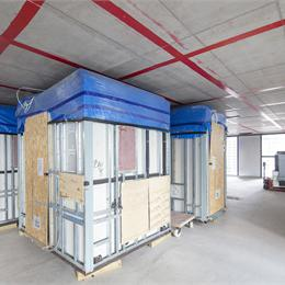 Bathroom pods on site | Offsite Solutions