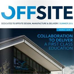 Offsite have been selected for a bathroom pods feature article for Offsite Magazine.