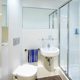 GRP bathroom pods